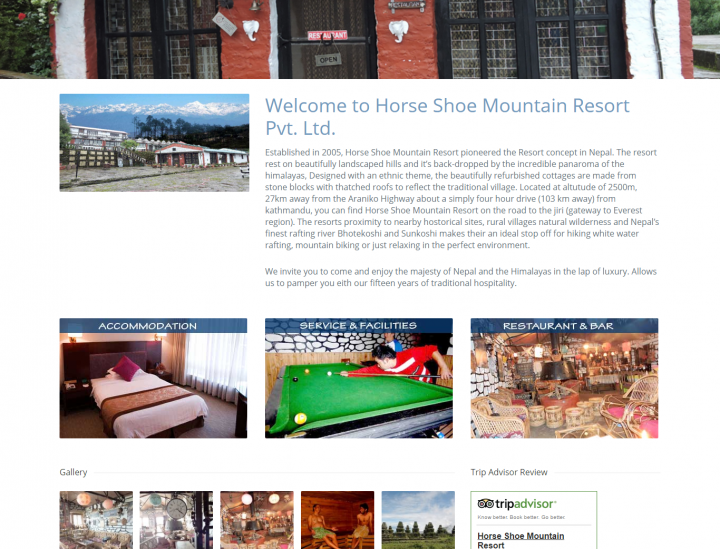 Horse Shoe Mountain Resort